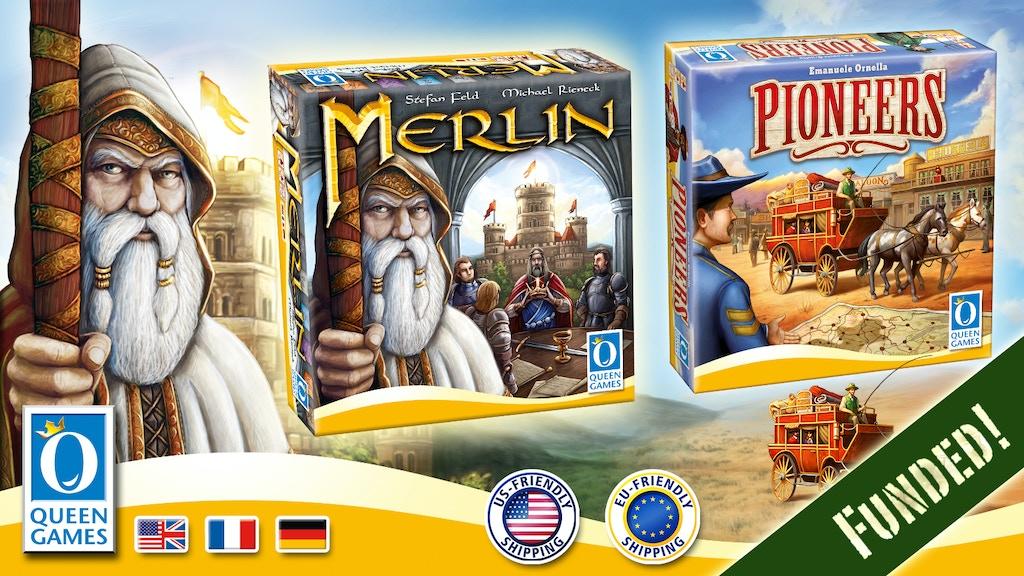 Merlin & Pioneers project video thumbnail