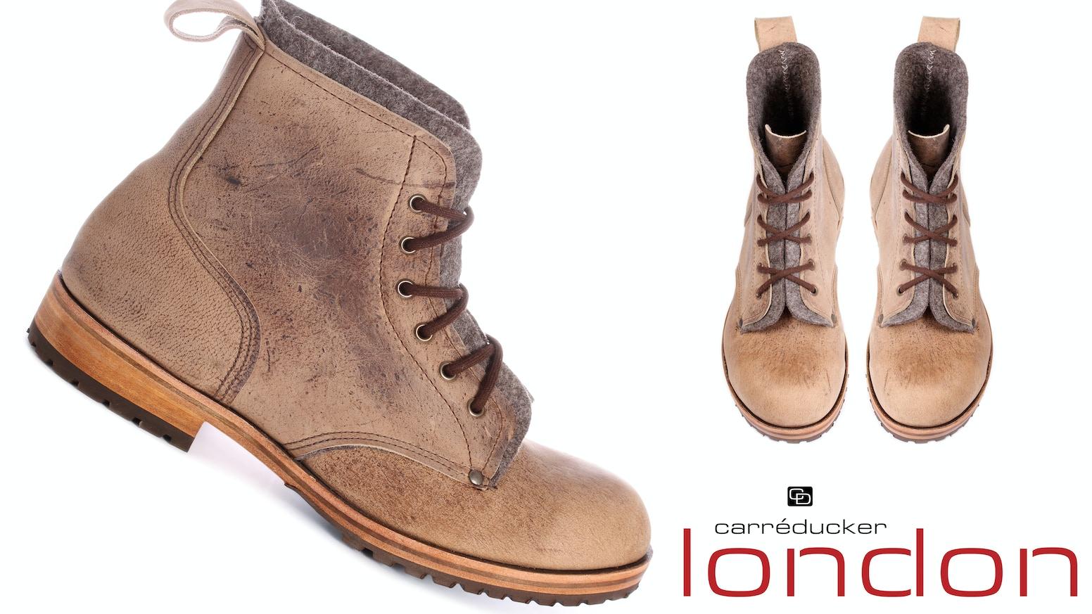 Carreducker Tor Boot By London Limited Kickstarter D Island Shoes Boots Chukka Slip On Dark Brown Leather