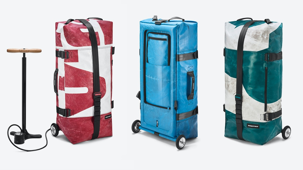 ZIPPELIN: An inflatable, one-of-a-kind travel bag by FREITAG project video thumbnail