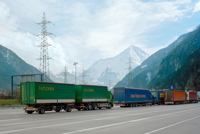 Our five tarp buyers – also known as truck spotters – are either on the phone or scoping out the truck stops of Europe to hunt down beautiful truck tarps.