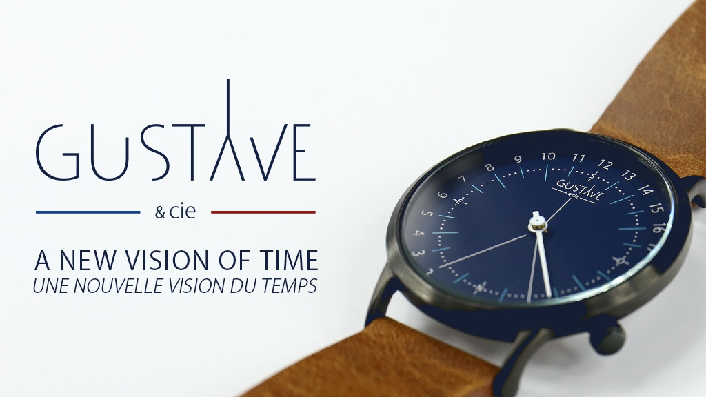 MONTRE 24H MADE IN FRANCE- 24H WATCH project video thumbnail