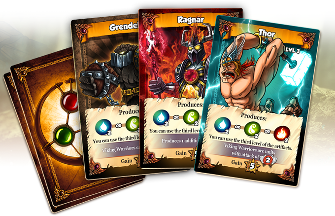 Image result for vikings gone wild master of elements booster packs