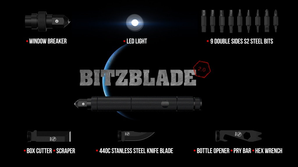 The BitzBlade 2.0 - The Last Multi-Tool You'll Ever Need project video thumbnail