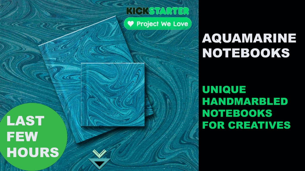 Project image for PROJECTS OF EARTH: AQUAMARINE NOTEBOOKS
