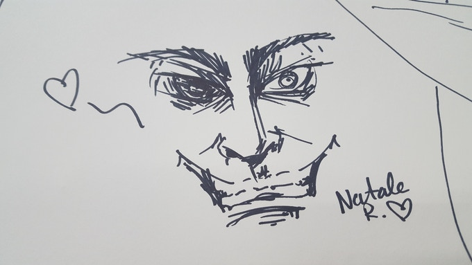 "Natale R. - 7"" x 4"""