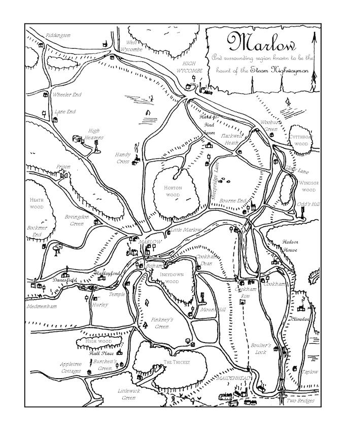 Steam Highwayman: A Steampunk Adventure Gamebook by Martin