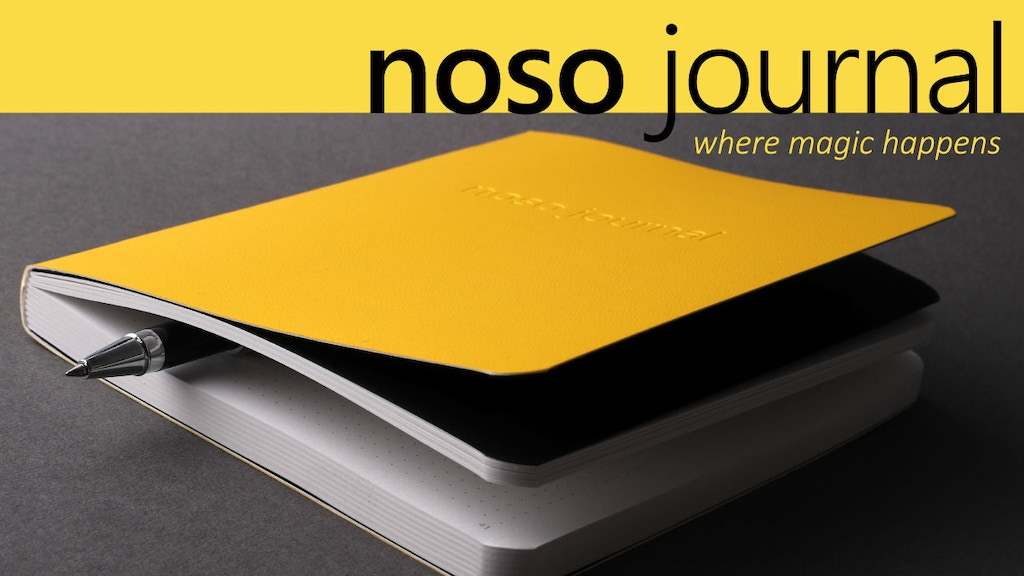 NOSO - Making the Benefits of Journaling Easily Accessible project video thumbnail