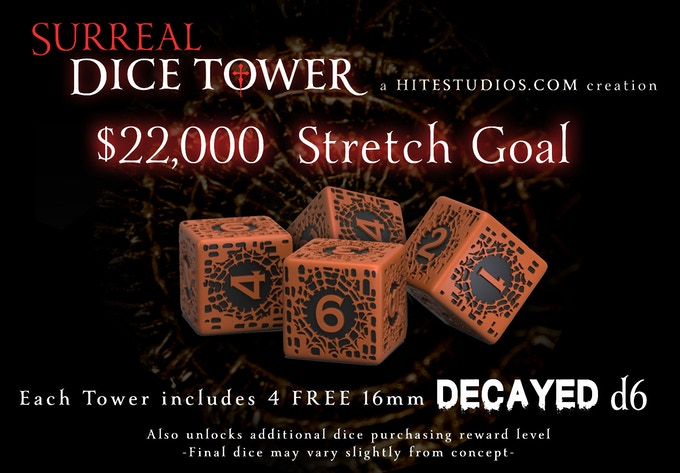 Surreal Dice Tower by Jason Andrew Hite — Kickstarter