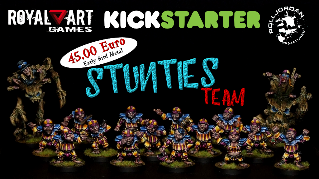 Project image for Fantasy Football Halfling Team - Stunties by Rolljordan (Canceled)