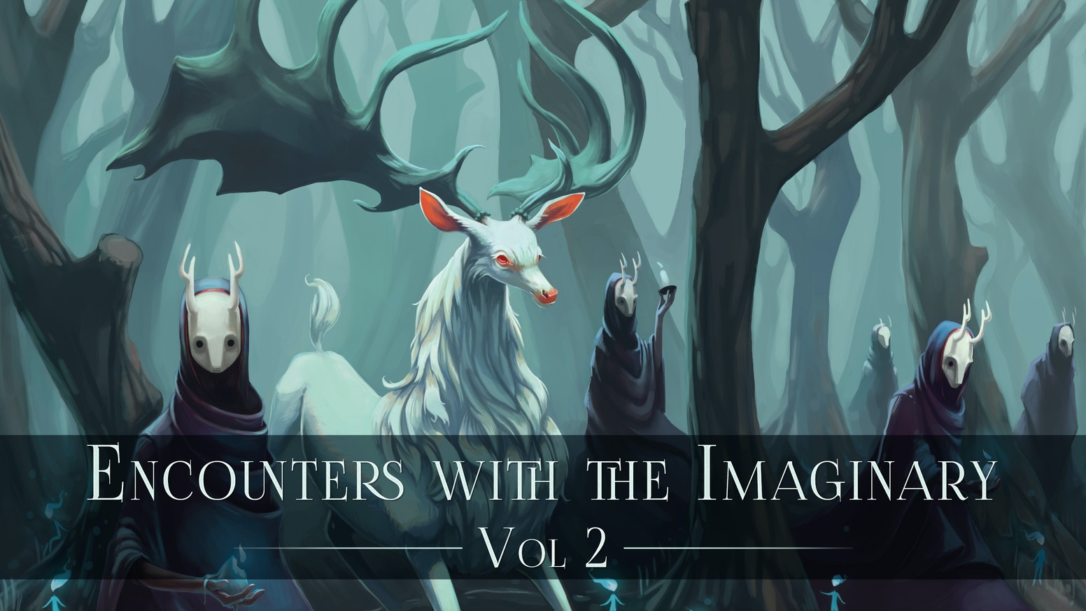 Encounters with the Imaginary is a collaborative art book featuring fantastical illustrations and wondrous narratives. Vol. 2 is now sold out, but Volume 3 is live on Kickstarter now!