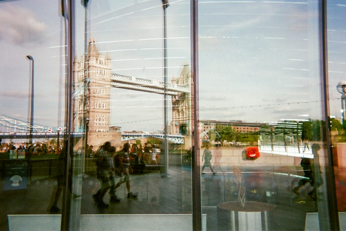 DECEMBER 2018 image: Tower Bridge reflection by Christopher McTavish