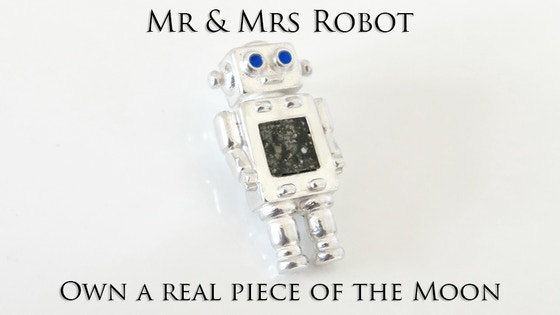MR & MRS ROBOT: Own a Real Piece of the Moon