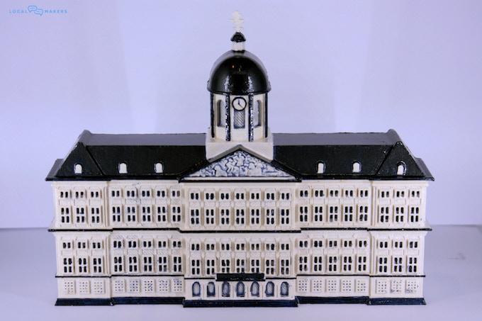 Dam Palace 3D printed