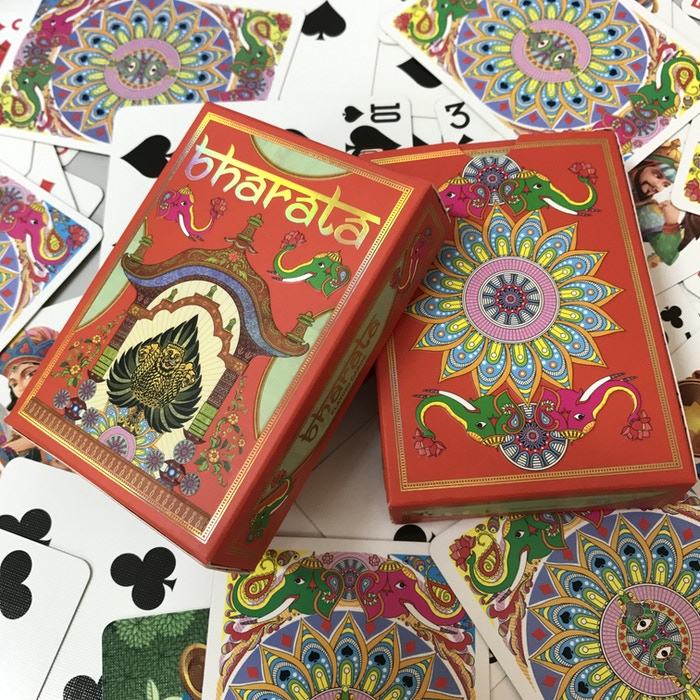 Luxurious art rich deck of cards inspired by Royalty & Folk Art | Gold foiled & gilded | Free worldwide shipping