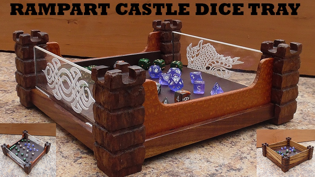 Project image for Rampart Castle Dice Tray & Castle Tower Pencil Holder