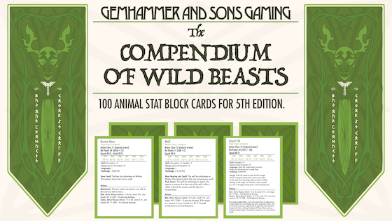 The Compendium of Wild Beasts 5E