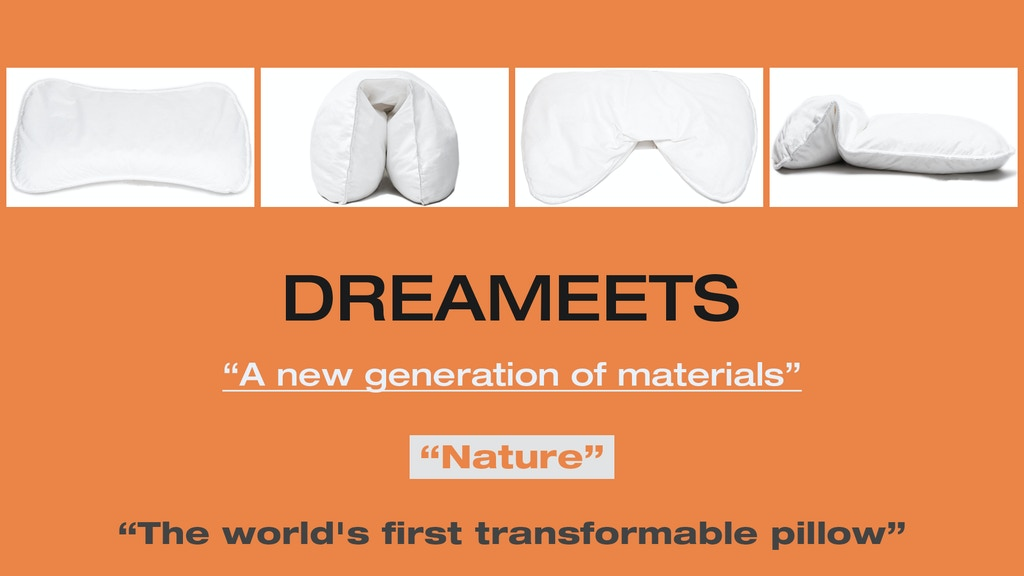 Dreameets: The World's first transformable pillow project video thumbnail