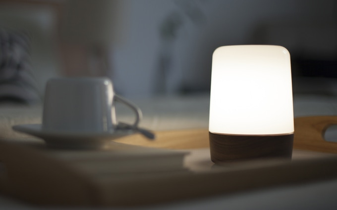A lamp in your bedroom