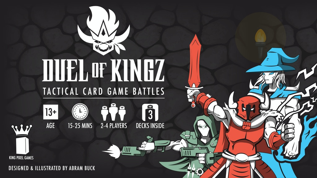 Duel of Kingz Tactical Card Game