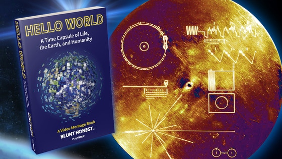 Video Montage Book Inspired by Voyager Golden Record