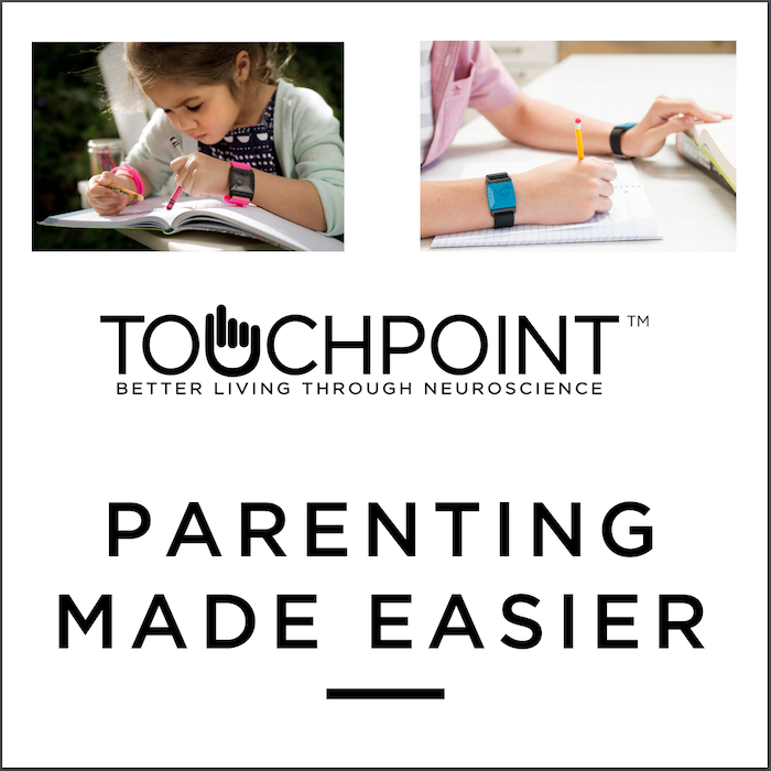 TouchPoints are non-invasive, wearable devices that alleviate stress and improve performance by altering the body's stress response.