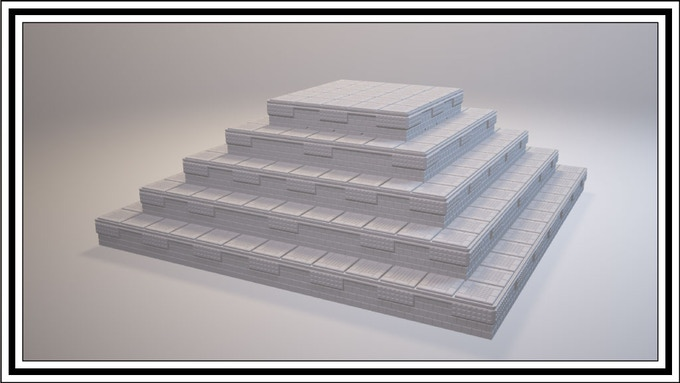 Top Layer uses V2 V1 V2 V1 V2 pattern