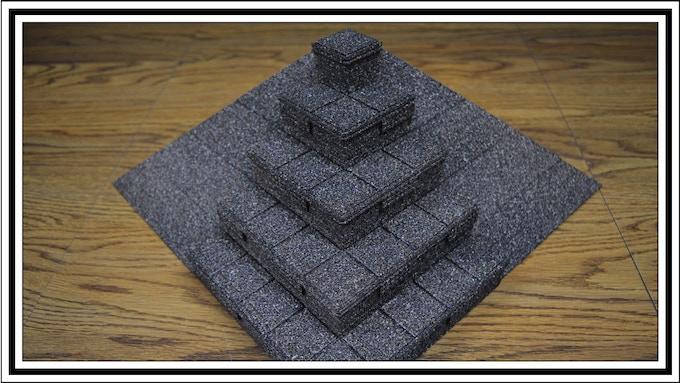Mayan mixed with Pyramid