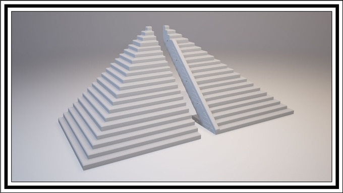 Stair Corners (Left) & Stair Ends (Right)