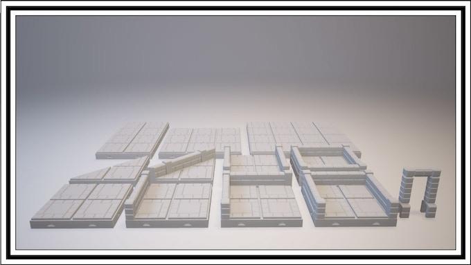 UNLOCKED - Pyramid Tile Set