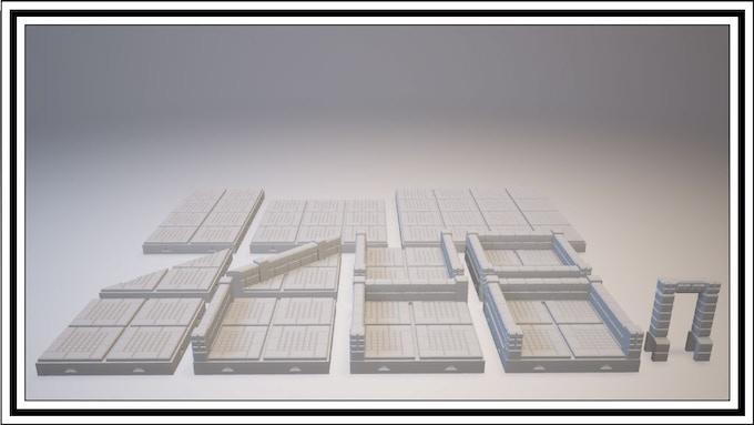 UNLOCKED - Mayan Tile Set
