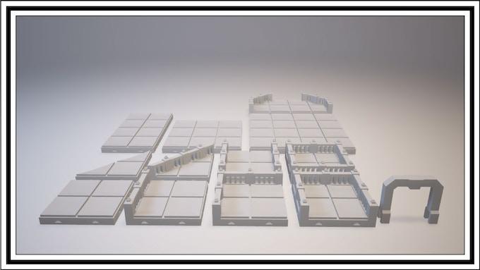 UNLOCKED - Dwarven Tile Set