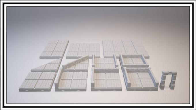 UNLOCKED - Basketweave Tile Set