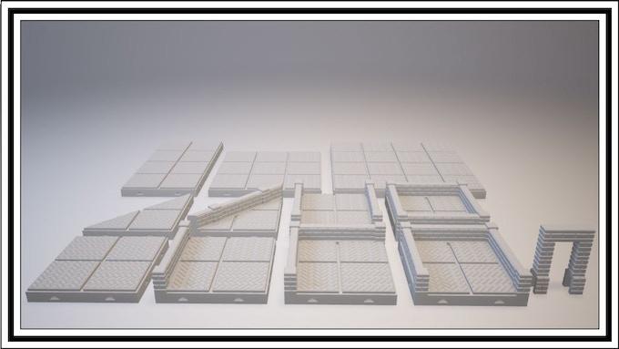 UNLOCKED - Herringbone Tile Set