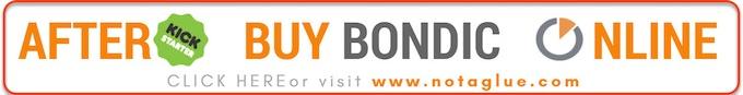 Bondic® Online Store Post Kickstarter