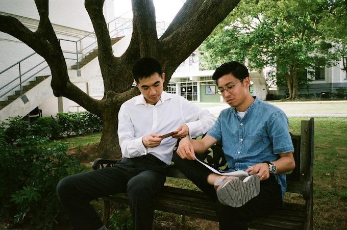 Designers of The Habit series, Albert Au and Glory Tam