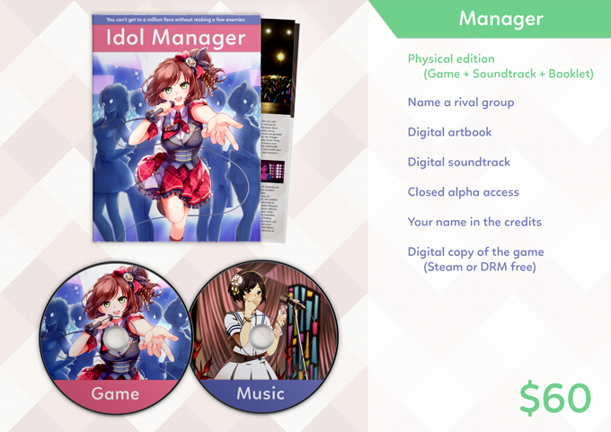 Idol Manager by Kuiper — Kickstarter