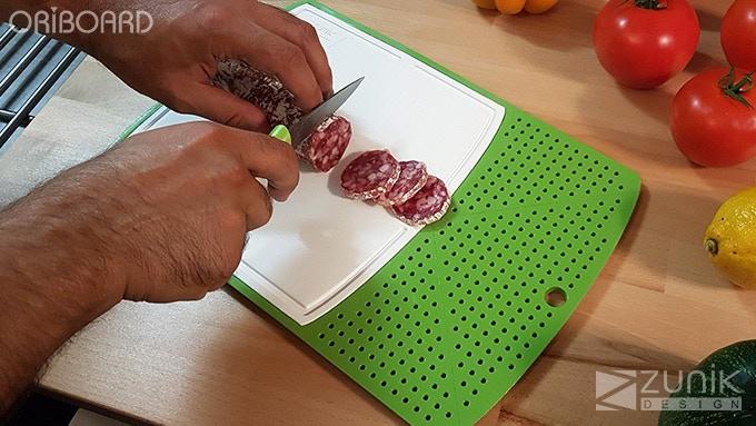 Cut meat (FR: Couper du saucisson)