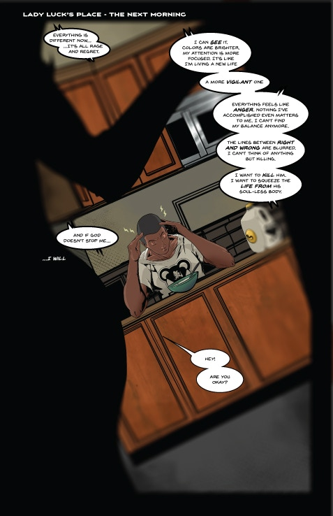Aceblade #1 Page 1 by wOlly Mcnair