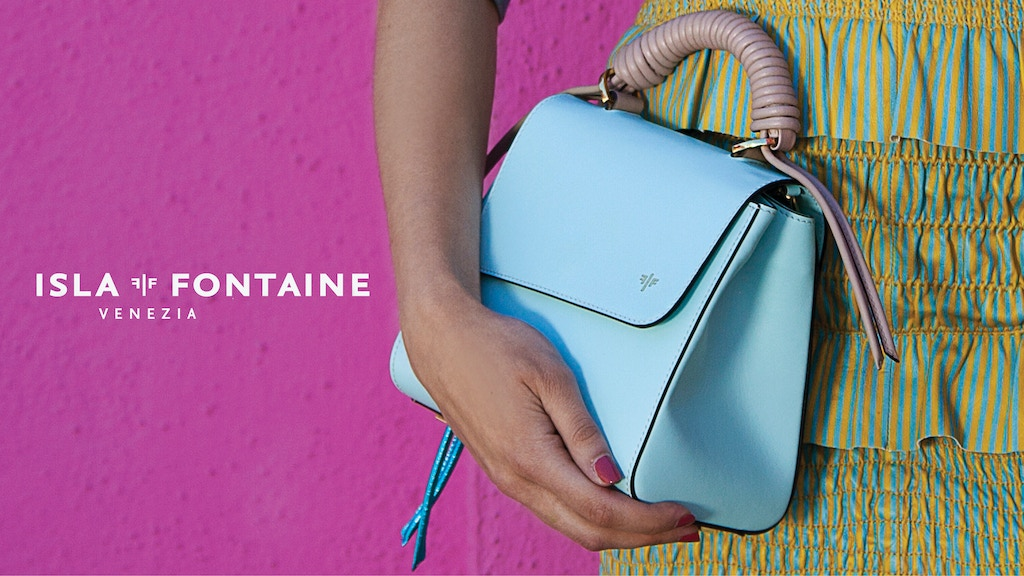 Isla Fontaine: Italian luxury leather bags
