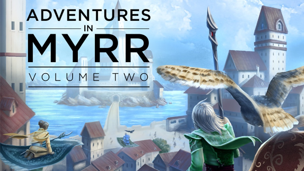 World of Myrr Adventures Vol 2 & Handbook for Fifth Edition project video thumbnail