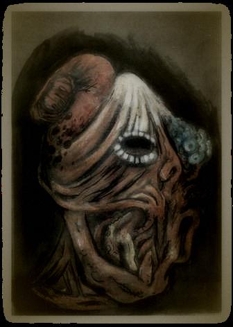 Concept Art for the Demon Mask of Hayama