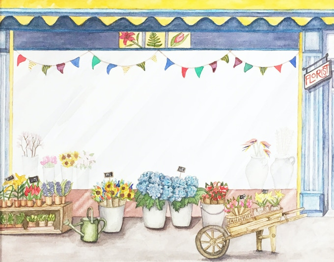 Flower Shop (available)