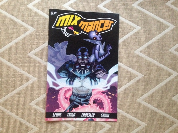 limited edition MIXMANCER one-shot