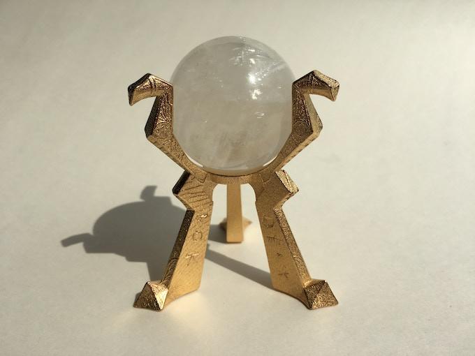 Orb of Destiny - Steel & Crystal