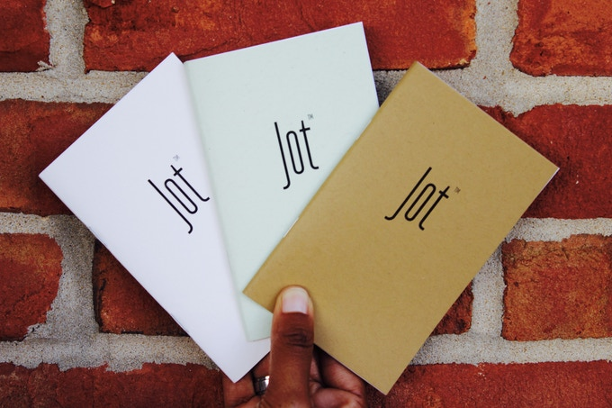 jot notebooks minimal versatile funink and paper