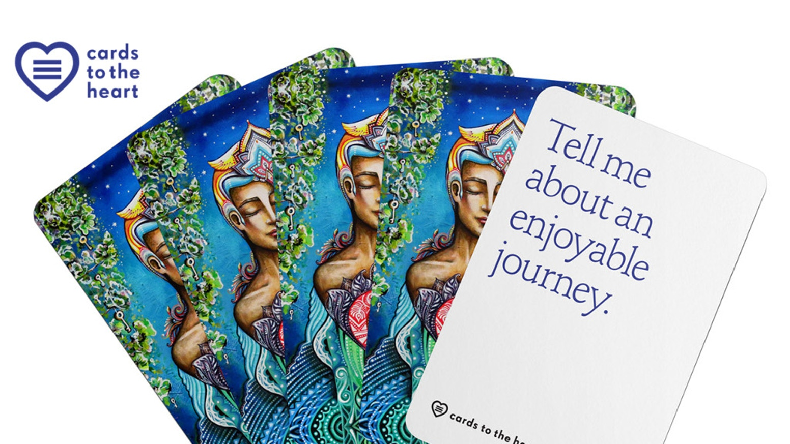 Question cards that encourage conversations to deepen friendships and relationships.