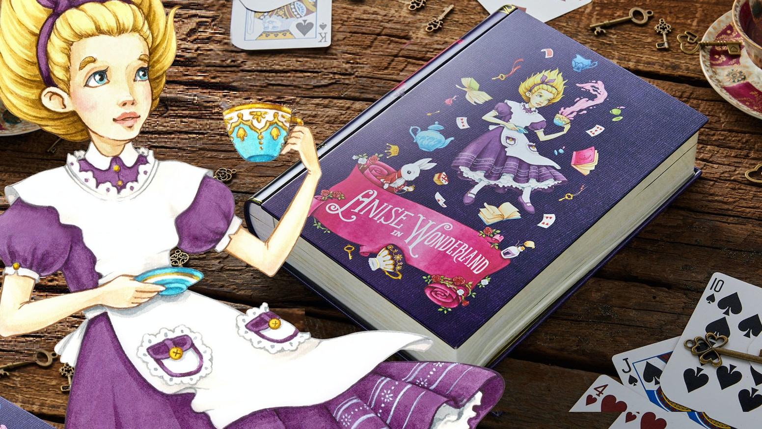 NovelTea Tins are Back! ~ Anise in Wonderland, Pu'er Rabbit and many more -- Punny Tea Caddies For Avid Book Readers