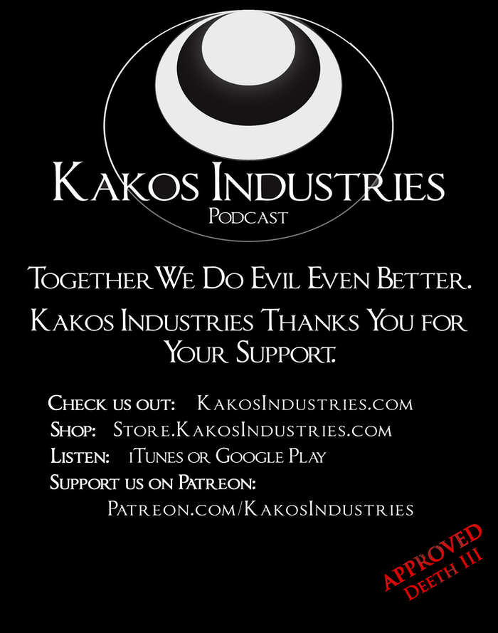 We did it! Kakos Industries is making one hell of a shirt.