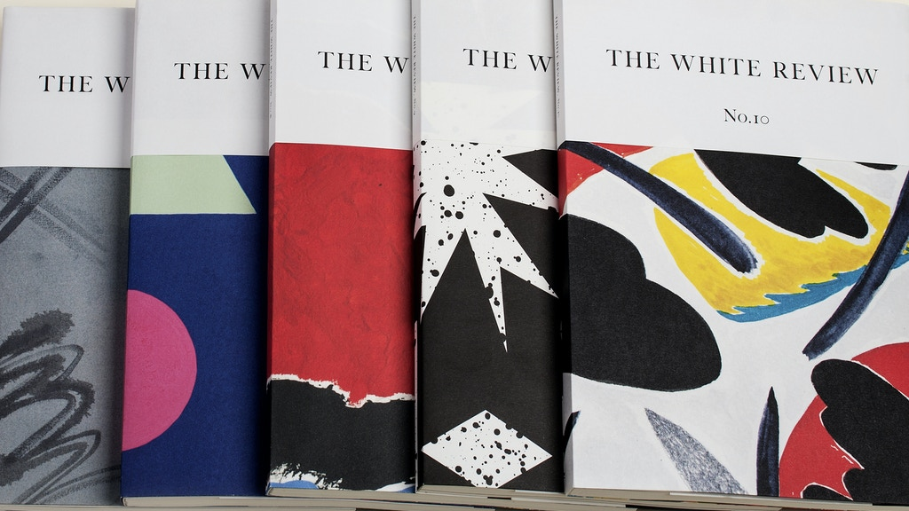 The White Review – a new space for criticism project video thumbnail