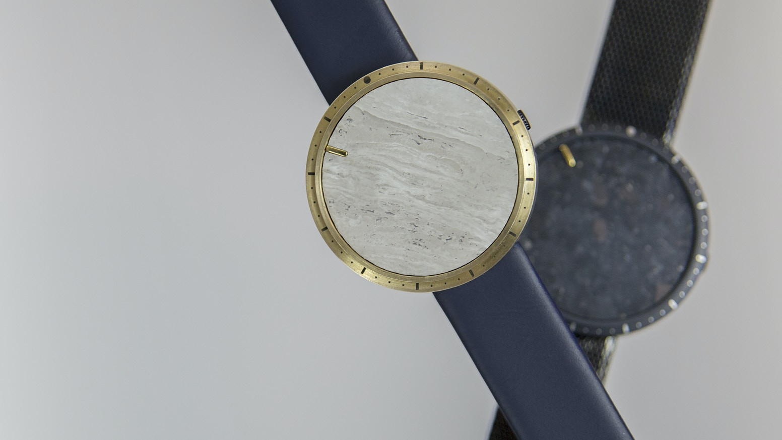 Hundreds of material combinations, all interchangeable in seconds - CLOAK is the most personalisable watch ever.